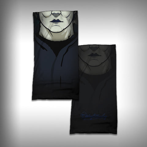 Monk Wrap Neck Gaiter / Face Shield - Halloween - SurfmonkeyGear