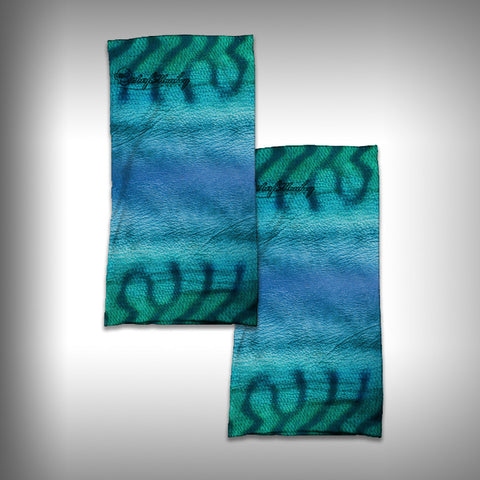 Monk Wrap Neck Gaiter / Face Shield - Kingfish Blue - SurfmonkeyGear
