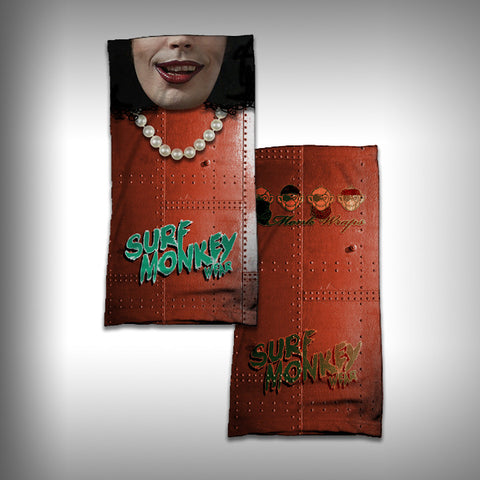 Monk Wrap Neck Gaiter - Face Shield - Bandana - Rocky Horror - SurfmonkeyGear
