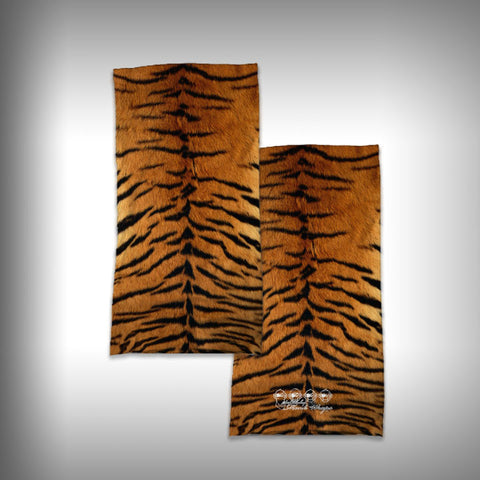 Monk Wrap Neck Gaiter - Face Shield - Bandana - Tiger - SurfmonkeyGear