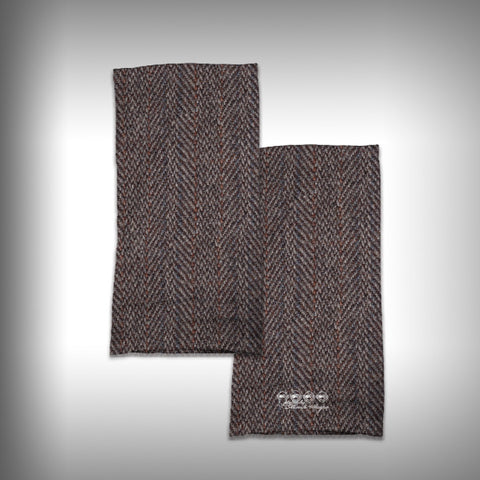 Monk Wrap Neck Gaiter - Face Shield - Bandana - Tweed - SurfmonkeyGear