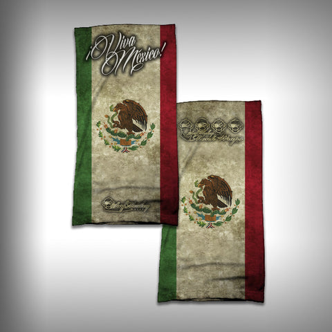 Monk Wrap Neck Gaiter - Face Shield - Bandana - Viva Mexico - SurfmonkeyGear