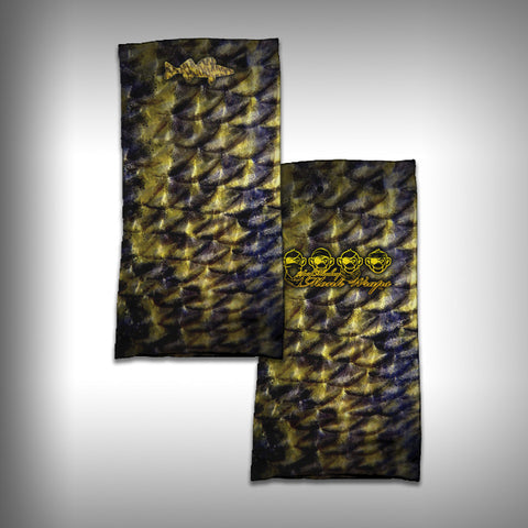 Monk Wrap Neck Gaiter / Face Shield - Walleye - SurfmonkeyGear