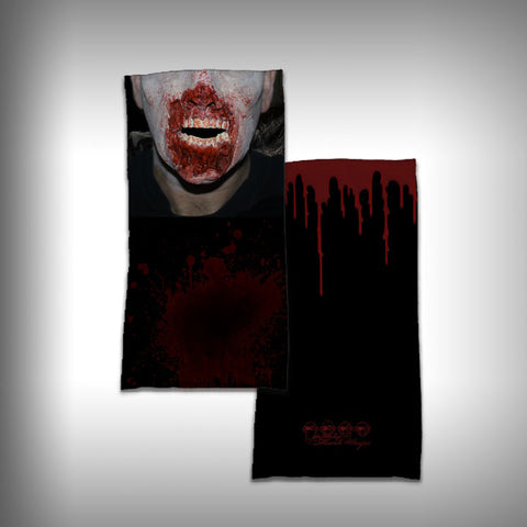 Monk Wrap Neck Gaiter - Face Shield - Bandana - Zombie - SurfmonkeyGear