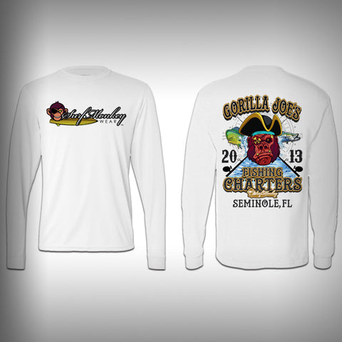 Gorilla Joe's  - Performance Shirts - Fishing Shirt - SurfmonkeyGear  - 1