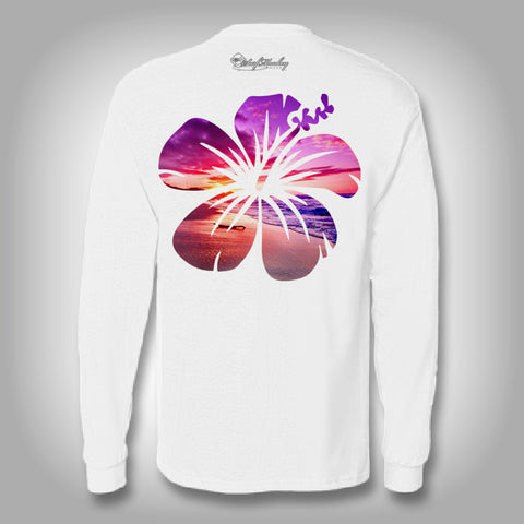 Surfmonkey OceanWear™ Performance Solar Shirt - Flower
