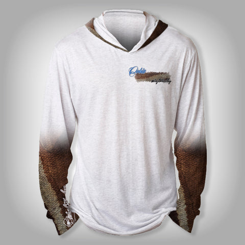 Surfmonkey Gear Fish Headzies™ Performance Solar Hoodie Shirt - Cobia