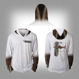 Surfmonkey Gear Fish Headzies™ Performance Solar Hoodie Shirt - Cobia - SurfmonkeyGear  - 1