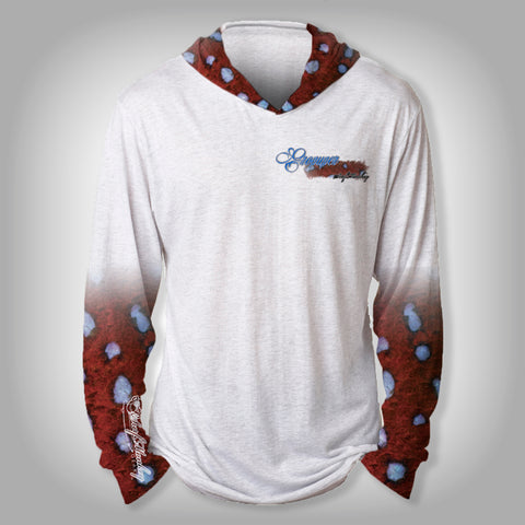 Surfmonkey Gear Fish Headzies™ Performance Solar Hoodie Shirt - Grouper