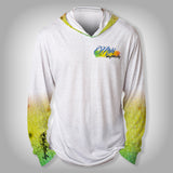 Surfmonkey Gear Fish Headzies™ Performance Solar Hoodie Shirt - Mahi