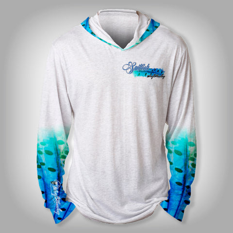 Surfmonkey Gear Fish Headzies™ Performance Solar Hoodie Shirt - SailFish