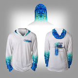 Surfmonkey Gear Fish Headzies™ Performance Solar Hoodie Shirt - SailFish - SurfmonkeyGear  - 1