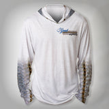 Surfmonkey Gear Fish Headzies™ Performance Solar Hoodie Shirt - Snook