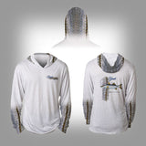 Surfmonkey Gear Fish Headzies™ Performance Solar Hoodie Shirt - Snook - SurfmonkeyGear  - 1