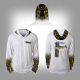 Surfmonkey Gear Fish Headzies™ Performance Solar Hoodie Shirt - Walleye - SurfmonkeyGear  - 1