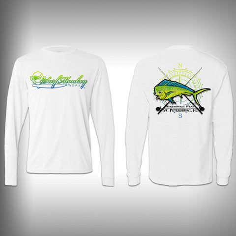 Youth Mahi SurfMonkey - Youth Performance Shirts - Fishing Shirt - SurfmonkeyGear