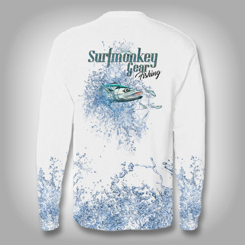 KingFish Explosion -Solar Performance Long Sleeve Shirts - Fishing Shirt