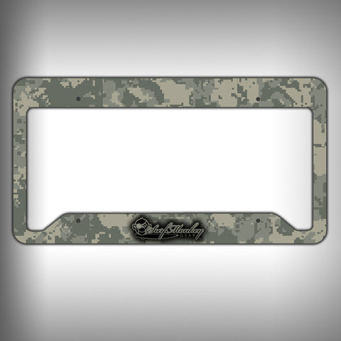 Camo Custom Licence Plate Frame Holder Personalized Car Accessories - SurfmonkeyGear