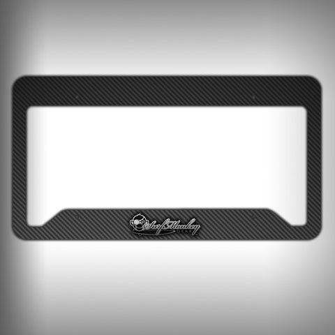 Carbon Fiber Custom Licence Plate Frame Holder Personalized Car Accessories - SurfmonkeyGear