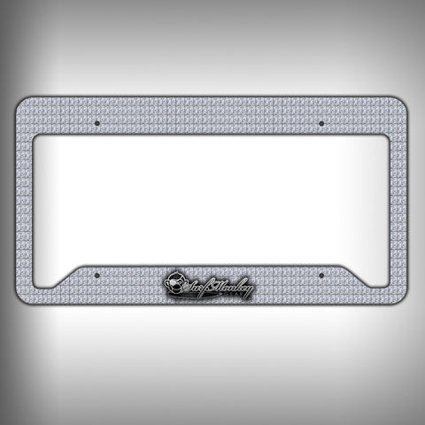 Diamonds Custom Licence Plate Frame Holder Personalized Car Accessories - SurfmonkeyGear
