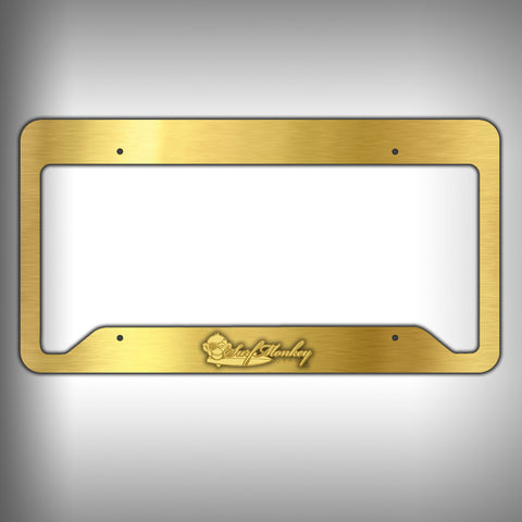 Custom Licence Plate Frame Holder Personalized Car Accessories - SurfmonkeyGear