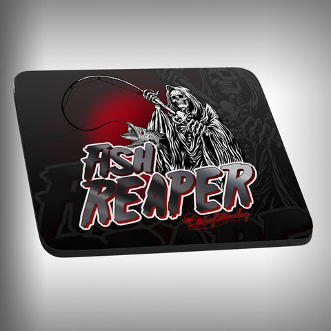 Fish Reaper Mouse Pad with Custom Graphics - SurfmonkeyGear