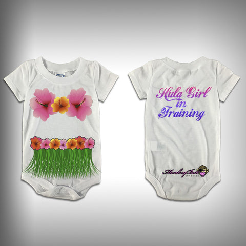 Monksies™ Custom Print One Piece Baby Body Suit (Onsies) - Hulu Girl 2 - SurfmonkeyGear
