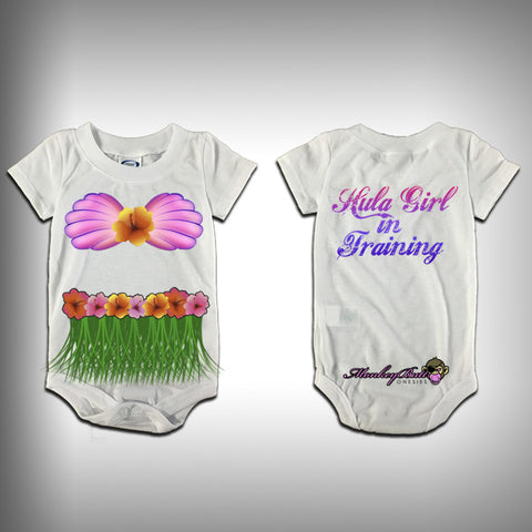 Monksies™ Custom Print One Piece Baby Body Suit (Onsies) - Hulu Girl - SurfmonkeyGear