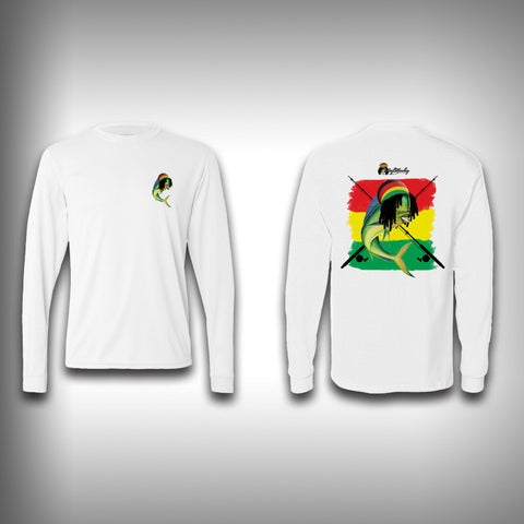 Rasta Mahi - Performance Shirt - Fishing Shirt - SurfmonkeyGear  - 1