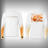 Redfish Scale Sleeve Shirt -  SurfMonkey - Performance Shirts - Fishing Shirt - SurfmonkeyGear