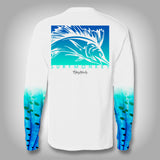 Sailfish Sail Sleeve Shirt -  SurfMonkey - Performance Shirts - Fishing Shirt