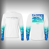 Sailfish Sail Sleeve Shirt -  SurfMonkey - Performance Shirts - Fishing Shirt - SurfmonkeyGear