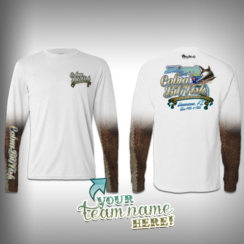 Cobia Big Fish Tournament Team Shirt Unisex -  SurfMonkey - Performance Shirts - Fishing Shirt - SurfmonkeyGear  - 1