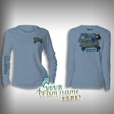 Cobia Big Fish Tournament Team Shirt Womens -  SurfMonkey - Performance Shirts - Fishing Shirt - SurfmonkeyGear  - 3