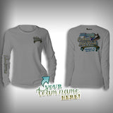 Cobia Big Fish Tournament Team Shirt Womens -  SurfMonkey - Performance Shirts - Fishing Shirt - SurfmonkeyGear  - 2