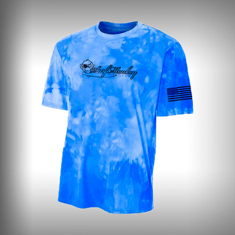Space Dye Performance Short Sleeve