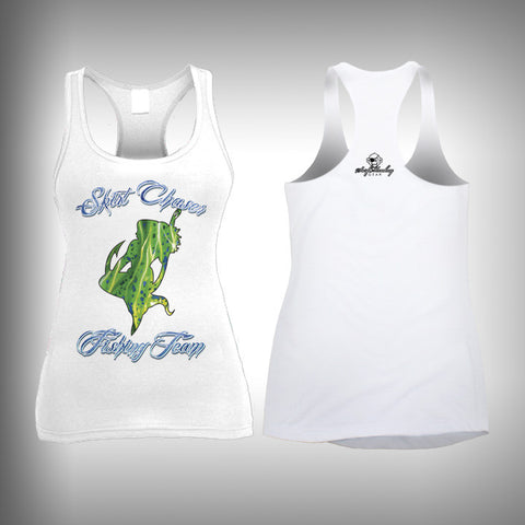 Skirt Chaser Fishing Team Womens Tanks Tops - SurfmonkeyGear
