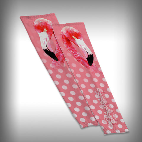 Pink Flamingo Compression Sleeve Arm Sleeve