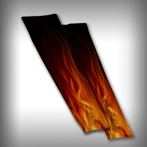 Flames Compression Sleeve Arm Sleeve - SurfmonkeyGear