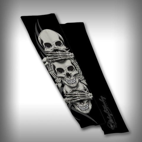Hear no Evil Compression Sleeve Arm Sleeve - SurfmonkeyGear