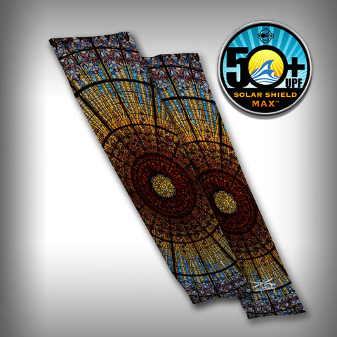 Stainglass Compression Sleeve Arm Sleeve