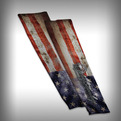 USA Flag - American Flag - Compression Sleeve Arm Sleeve - SurfmonkeyGear