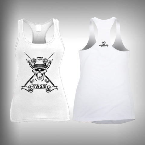 Surfmonkey Cowgirl - Womens Tank Top - SurfmonkeyGear  - 1