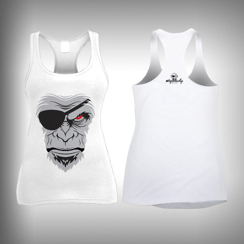 Face of the Surfmonkey - Womens Tank Top - SurfmonkeyGear  - 1