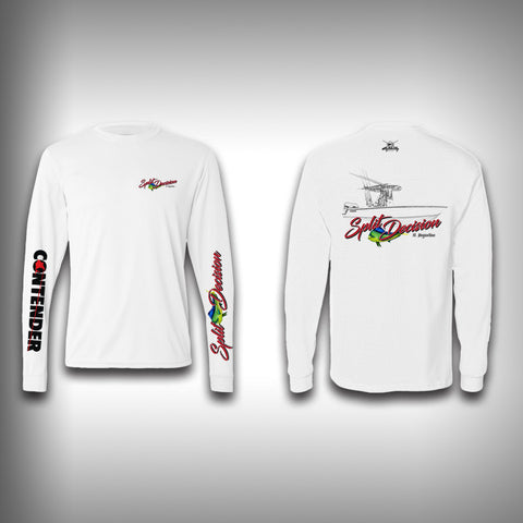 Split Decision Fishing Team Performance Shirt - Fishing Shirt