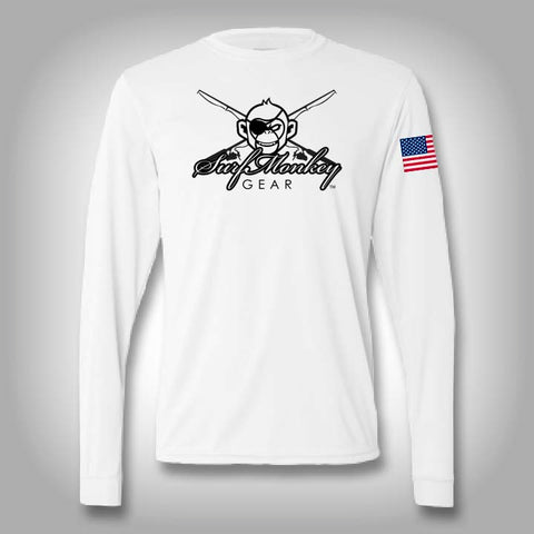 Surfmonkey Pro Performance Mini Logo Long Sleeve Solar