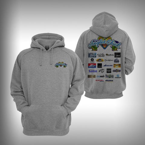 Team Angler Chick Sponsored Graphic Hoodie Sweatshirt - SurfmonkeyGear