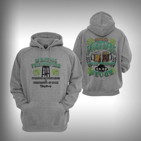 Graphic Hoodie Sweatshirt - Irish Stout - SurfmonkeyGear