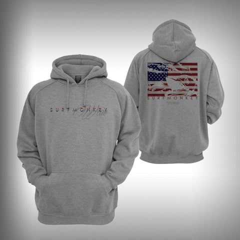 Kingfish Graphic Hoodie Sweatshirt - SurfmonkeyGear