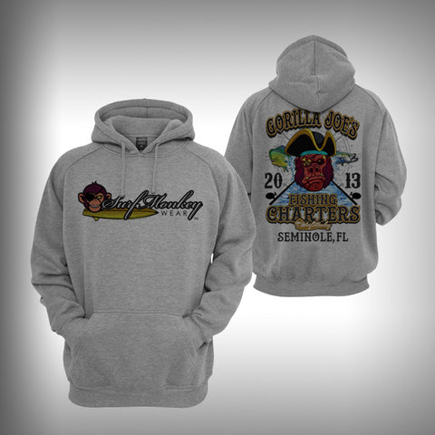 Gorilla Joe's Graphic Hoodie Sweatshirt - SurfmonkeyGear